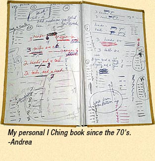 My personal I Ching Book